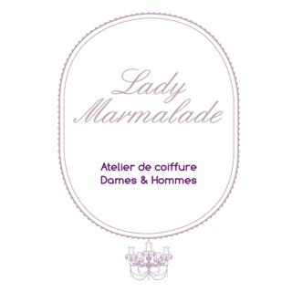 Thumb lady marmalade atelier de coiffure logo